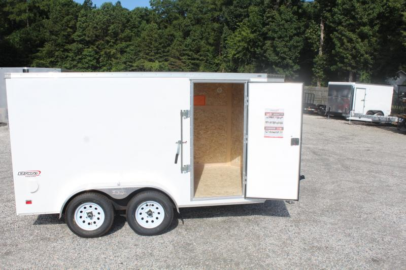 2020 Bravo Scout 7X12 w/ Ramp Door