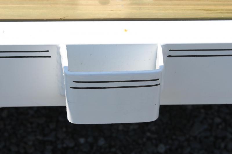 2019 PJ 7x18 UL w/ 2x2 Box Dovetail & Gate