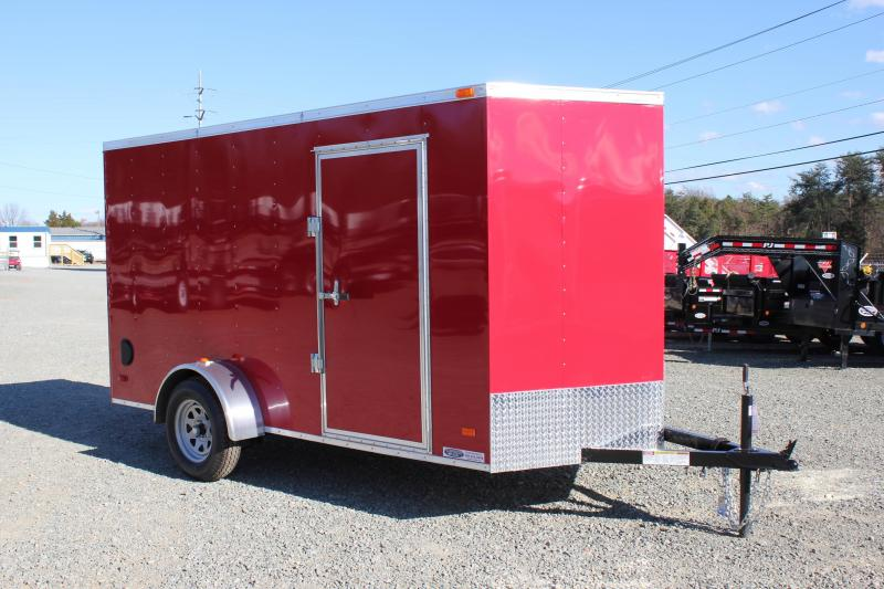 2020 Bravo Hero 6x12 w/ Ramp Door in Hollister, NC