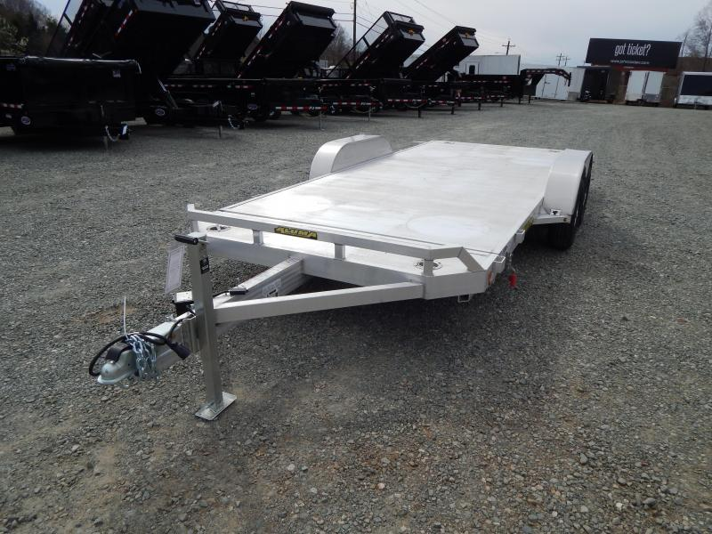 2020 Aluma 8216 Tilt Car Trailer in Ashburn, VA