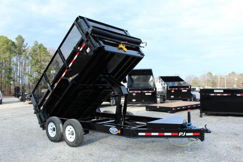 2019 PJ Trailers 7X12 DL 14K Dump Trailer  in Ashburn, VA