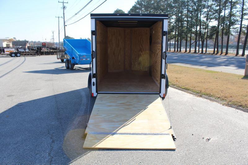 2020 Continental Cargo 6X12 w/Ramp Door