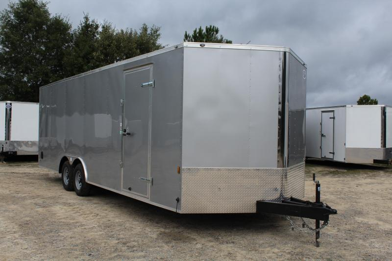 2019 Continental Cargo 8.5X24 10K Enclosed Car Trailer