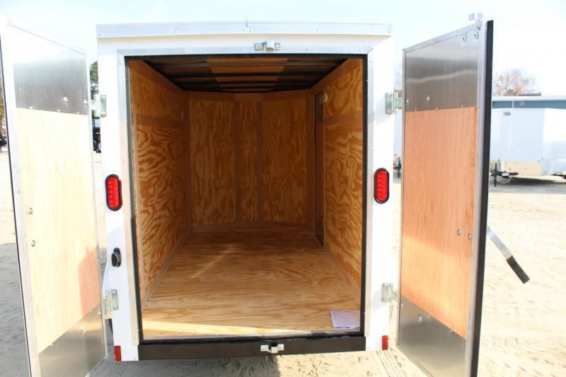 2020 Continental Cargo 5X8 w/ Double Rear Door