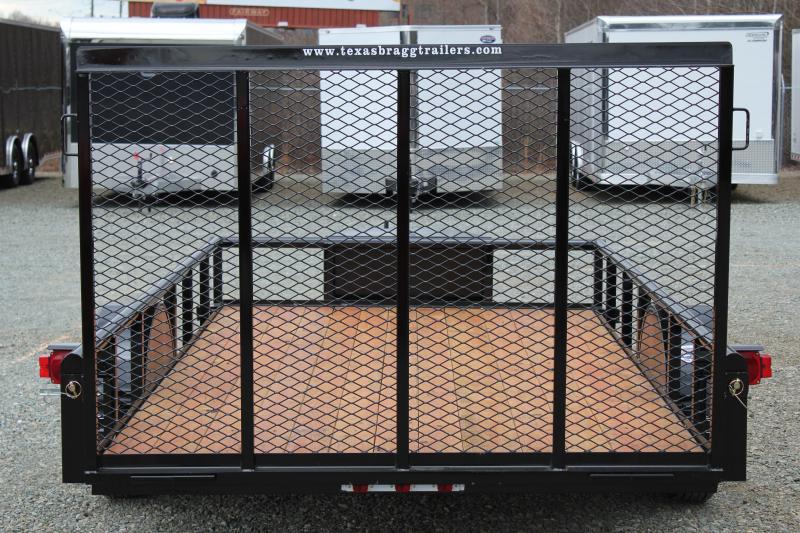 2018 Texas Bragg 6x12P w/ Gate & Tongue Box