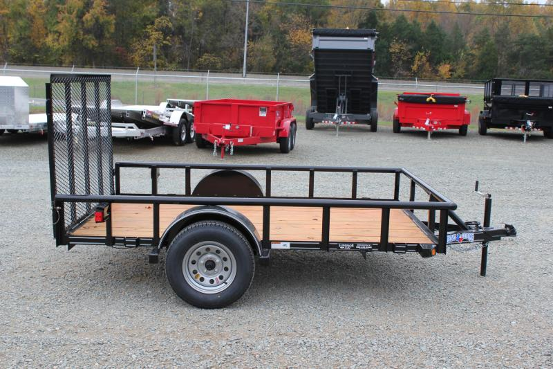 2017 Texas Bragg Trailers 6x10P w/ Gate