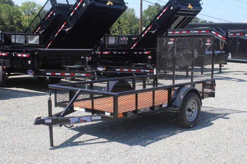 2019 Texas Bragg 5x10P Expanded Sides w/ Gate
