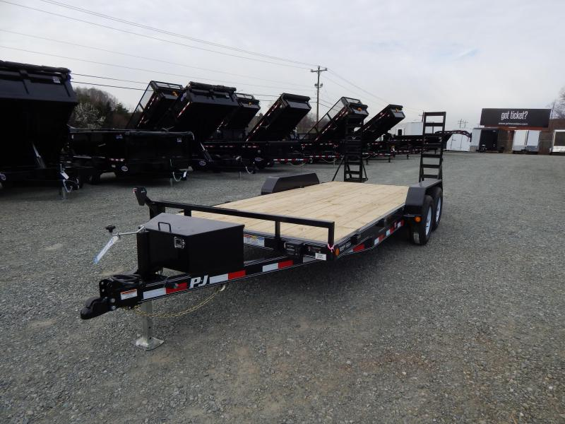 2019 PJ Trailers 18' CE 10K w/ Fold Up Ramps