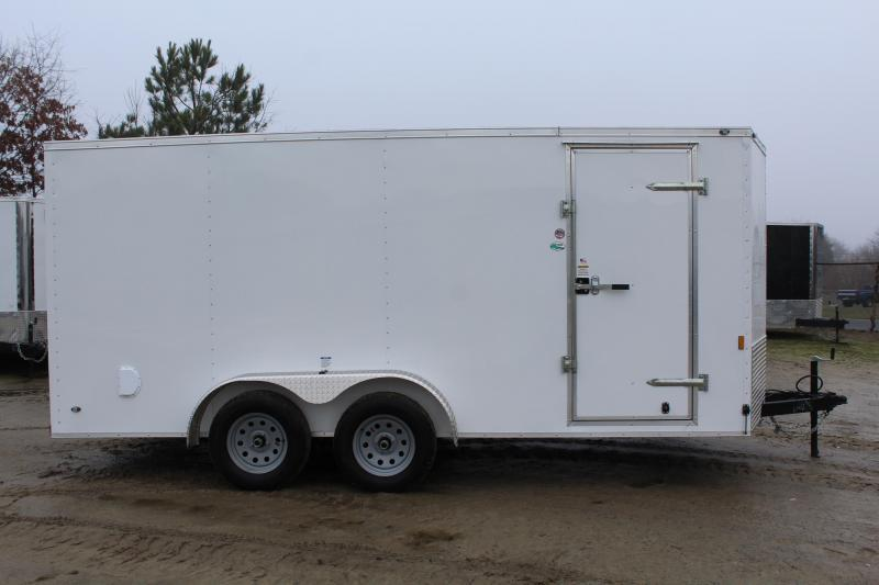 2020 Continental Cargo 7X16 w/ Double Rear Doors