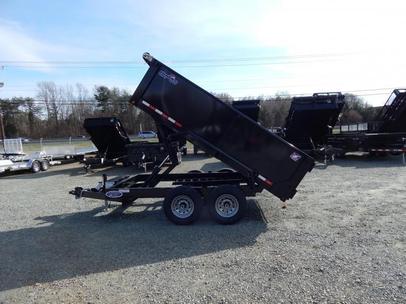 2019 Hawke 7x12 12K Dump w/ 3' Sides Ramps and Tarp