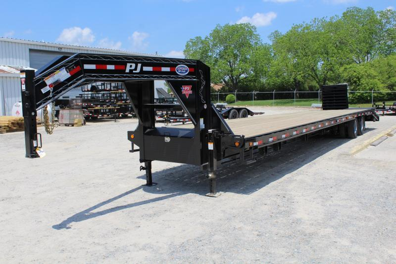 2019 PJ Trailers 40' Low Pro w/ 12K AIR RIDE Axles & Monster Ramps