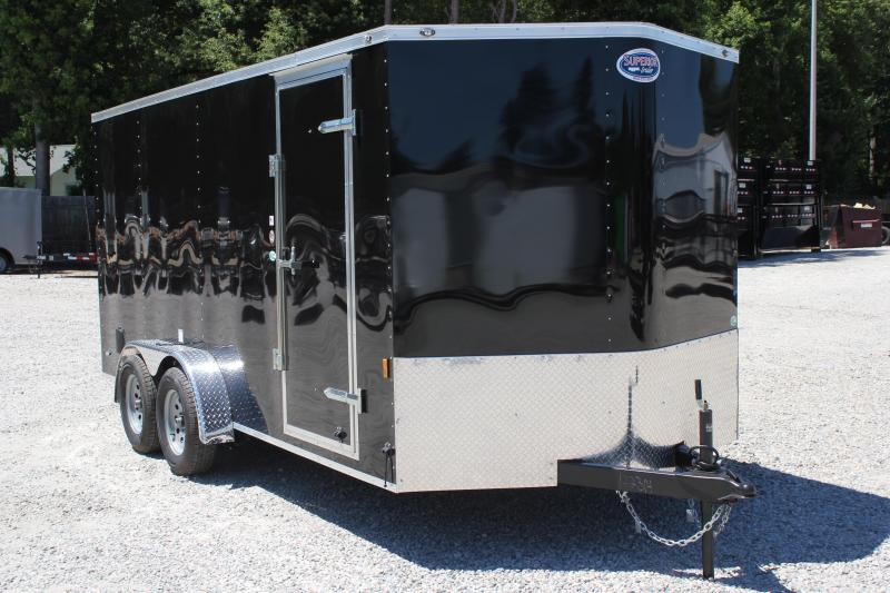 2019 Continental Cargo 7X16 w/ Ramp Door