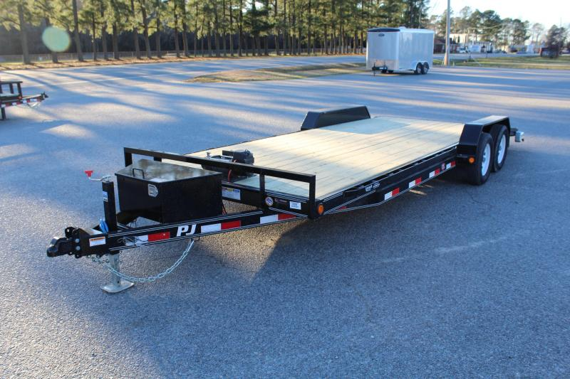 2019 PJ Trailers 22ft C5 7K Car / Racing Trailer