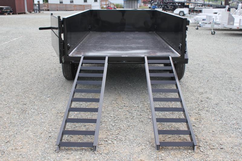 2019 Hawke 7x12 12K Dump w/ Spreader Gate Ramps & Tarp