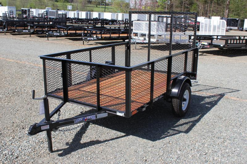 2018 Texas Bragg 5X8LB w/ 2ft Expanded Sides & Gate