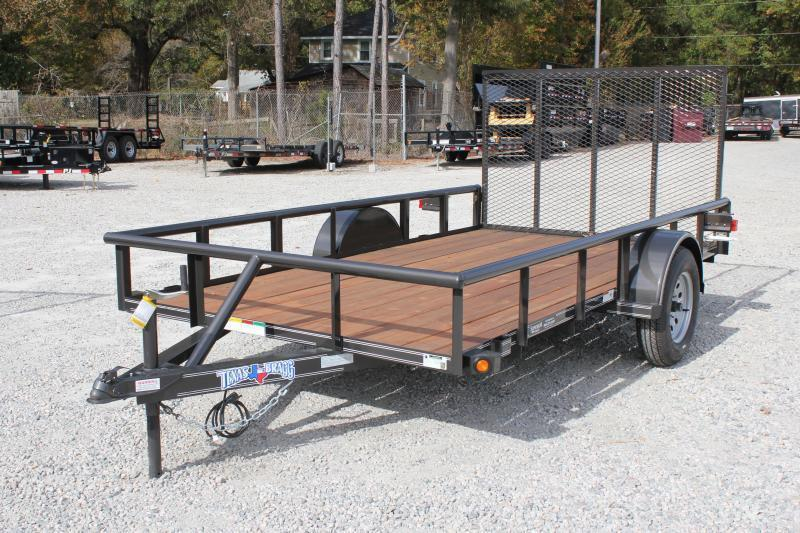 2019 Texas Bragg Trailers 6X12P w/ Gate