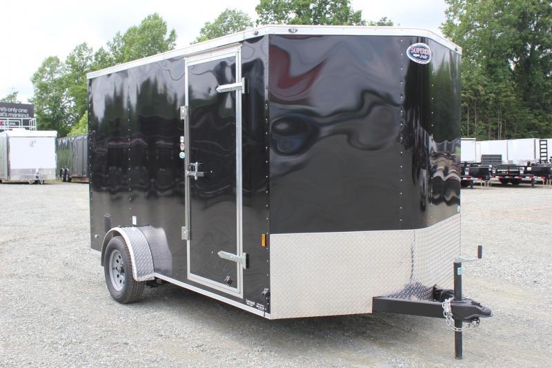 2020 Continental Cargo 7X12  w/ Ramp Door