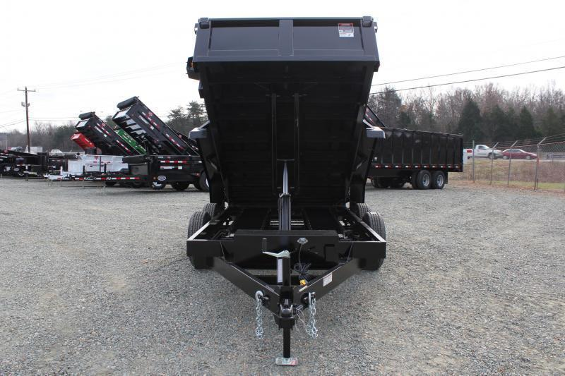 2018 Hawke 6X12 10K Dump w/ Spreader Gate & Ramps