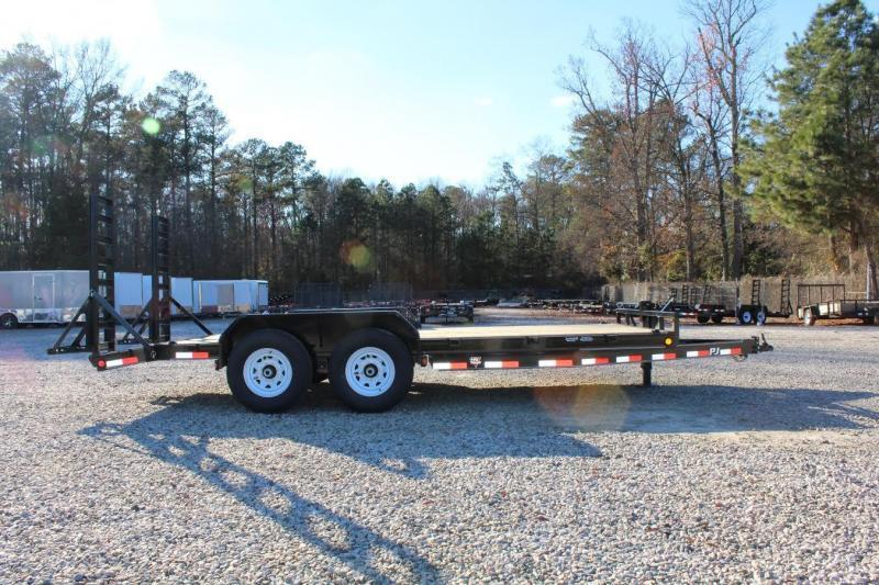 2018 PJ Trailers 18ft CC 14K w/Fold Up Ramps