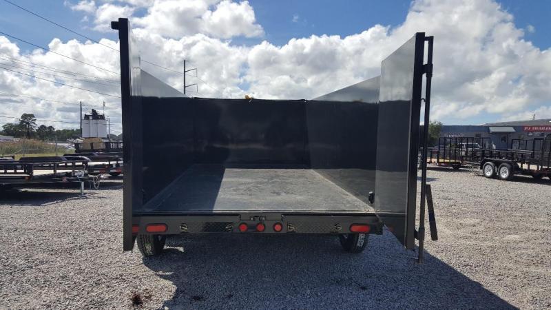 2019 PJ Trailers 7X14 DH 14K  High Side Dump Trailer