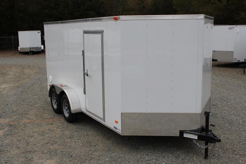 2020 Bravo Hero 7X14 w/ Double Rear Door