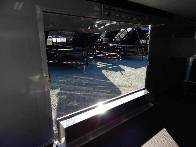 2019 Bravo ALUMINUM Silver Star 8.5X24 10K w/ Full Escape Door