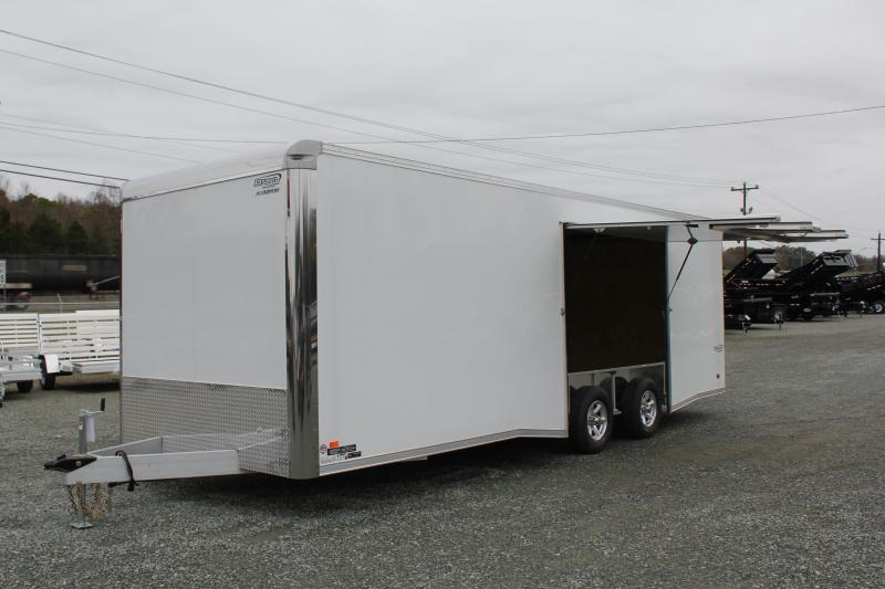 2019 Bravo ALUMINUM Silver Star 8.5X24 10K w/ Full Escape Door in Longs, SC