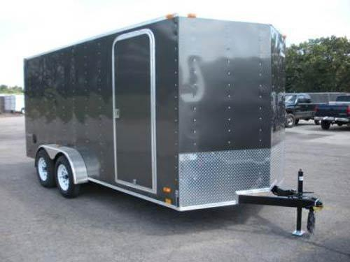 2018 Look Trailers EWLC7X16TE2 Flat Top Enclosed Cargo Trailer