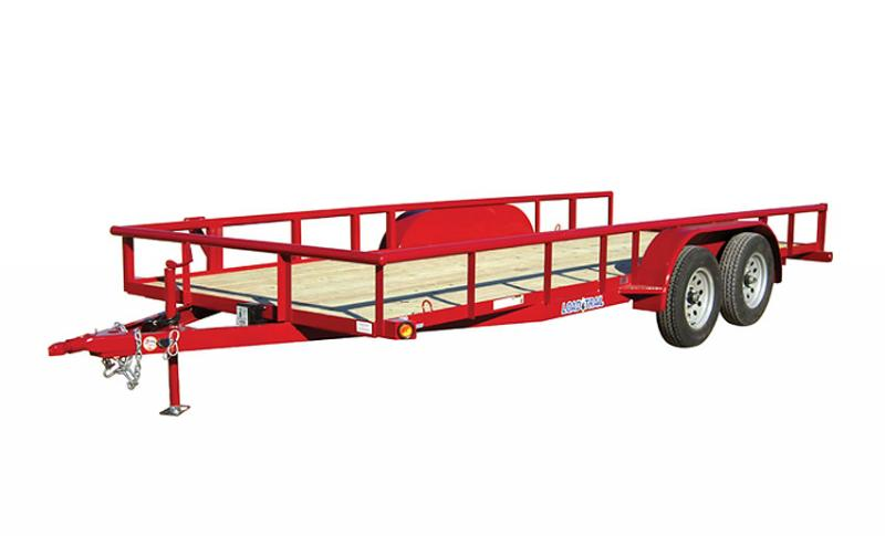 2018 Load Trail UE07 - Tandem Axle Utility 77 x 16 Utility Trailer