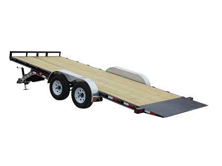 2019 PJ Trailers 83 in. Hydraulic Quick Tilt (TH) Equipment Trailer