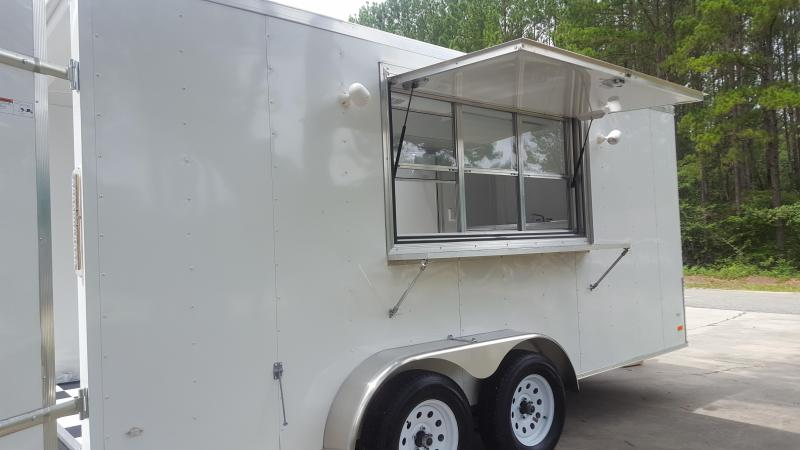 2017 Covered Wagon Trailers Gold Mine Series Vending / Concession Trailer