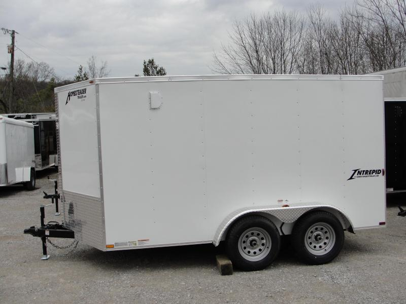 2018 Homesteader Inc. 712IT Enclosed Cargo Trailer