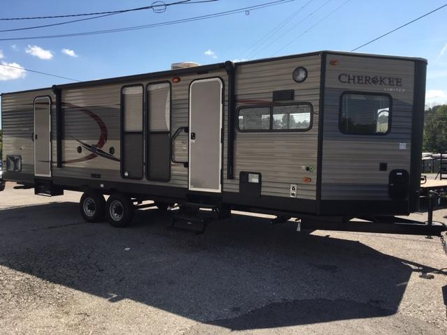 Used Camper Trailers For Sale >> 2016 Cherokee Trailers Forest River 274vfk Travel Trailer Rv