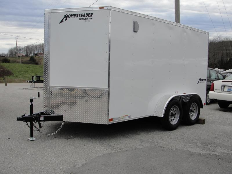2019 Homesteader Inc. 712IT Enclosed Cargo Trailer