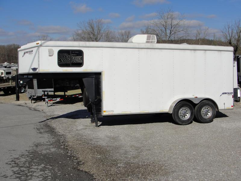 2012 Homesteader Inc. 724HT Enclosed Cargo Trailer
