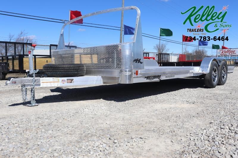 "2020 Hillsboro Industries 82""x20 Aluminum Car Hauler Car / Racing Trailer"