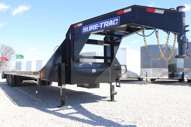 2019 Sure-Trac 8.5x30+5 25.9K Gooseneck Deckover Trailer