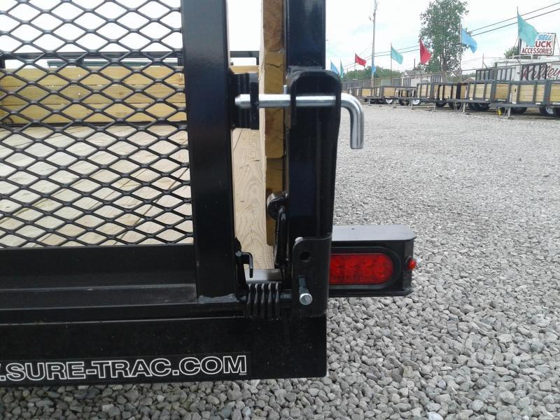 2019 Sure-Trac 7x12 3-Board Utility Trailer