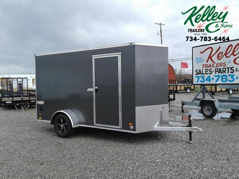 2019 Bravo Trailers 6x12 Aluminum Scout Enclosed Cargo Trailer
