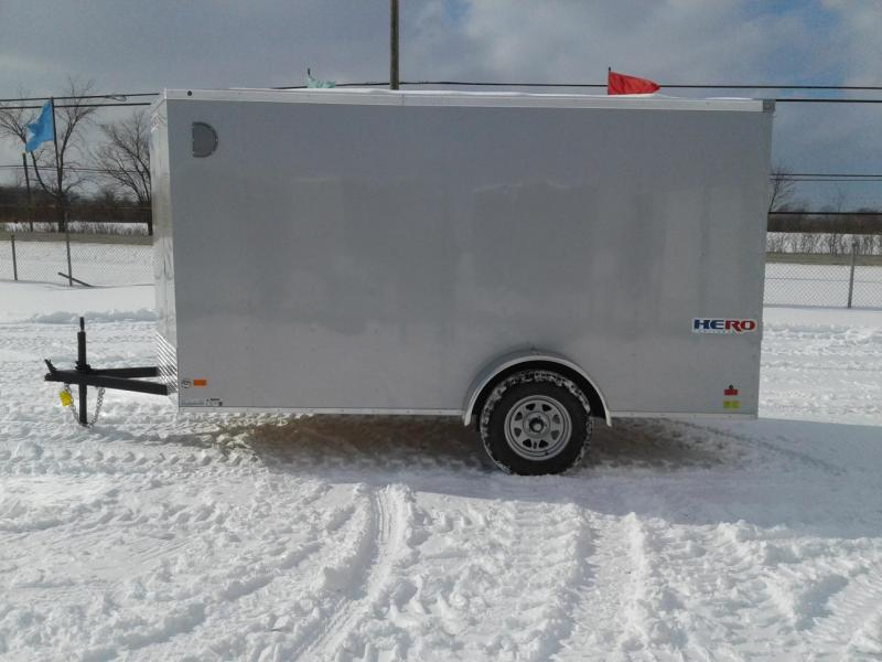 2019 Bravo Trailers 6x12 Hero Enclosed Cargo Trailer w/ Ramp
