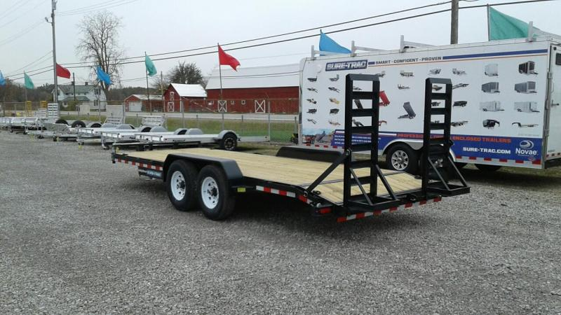 2018 Sure-Trac 7x20 14K Implement Equipment Trailer