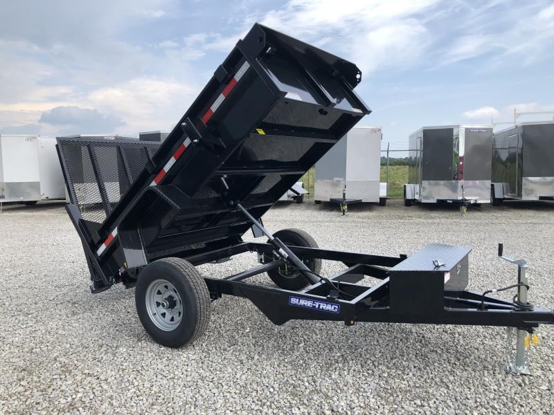 2019 Sure-Trac 62x8 5k Dump with Ramp