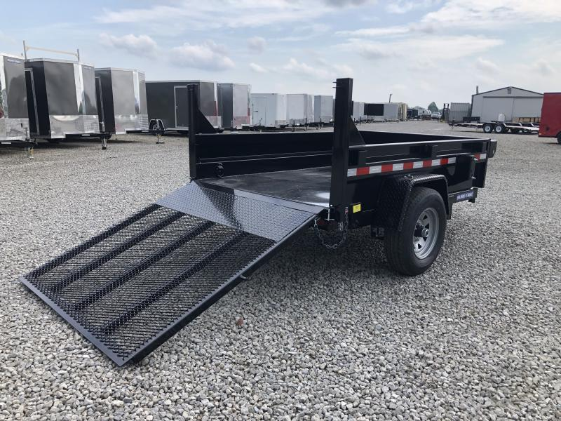 "2020 Sure-Trac 62""x8 5K Dump Trailer w/ Ramp"
