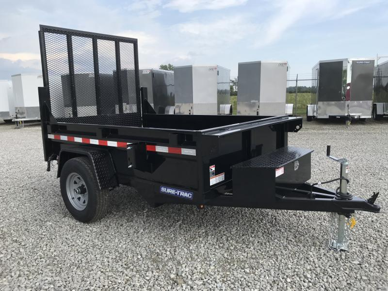 "2019 Sure-Trac 62""x8 5K Dump Trailer w/ Ramp"