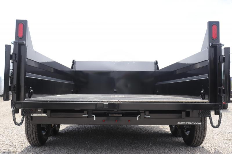 "2019 Sure-Trac 82"" x 12 12K Scissor Dump Trailer"