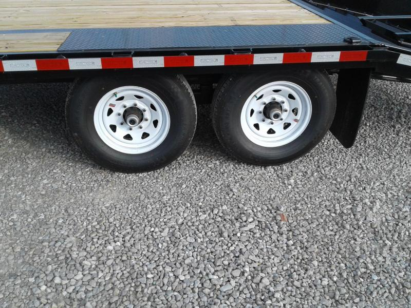 2019 Sure-Trac 8.5x20+5 15K Deckover Equipment Trailer