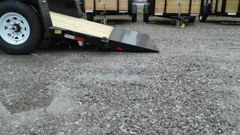 "2019 Sure-Trac 78""x12 7.8K Tilt Bed Equipment Trailer"