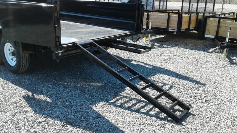 "2018 Sure-Trac 82""x14 14K Dual Ram Dump Trailer"