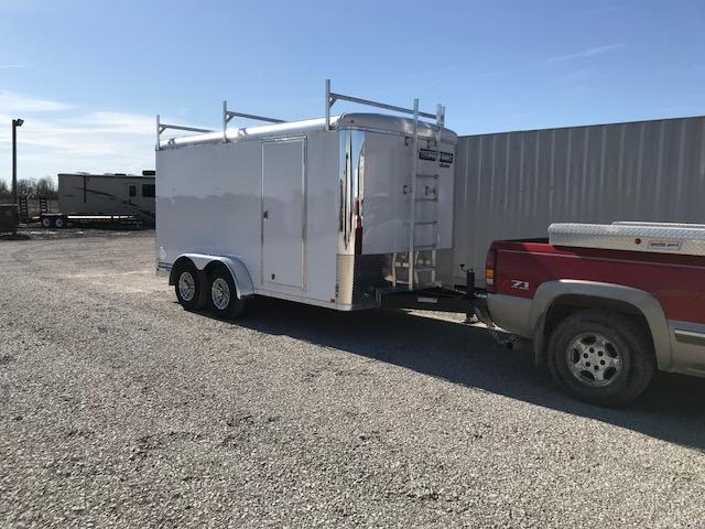 2019 Sure-Trac 7x14 10K Pro Series Round Top Cargo