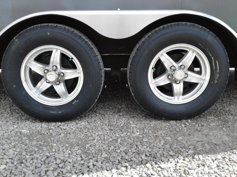 2019 Aluminum Trailer Company 7x18+6 3-Place Snowmobile Trailer